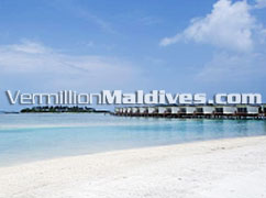 HolidayInn Resort Kandooma Maldives's Water Village – Beautiful water villas