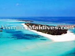 Aerial picture image of Kanuhura Island Resort Hotel Maldives