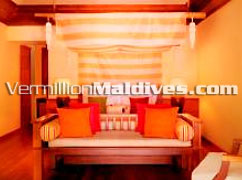 Beach Villa of Hotel Kanuhuraa Resorts of the Maldives : Book with the best deals