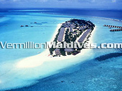 The five star Maldives beach resort Hotel Kanuhura. formerly one & only