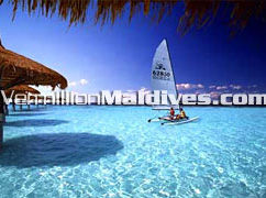 Catamaran Sailing: Have fun during your Maldives Holidays