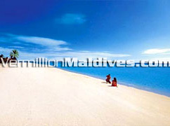 Beautiful sand and sandy beaches for a perfect Maldives holiday