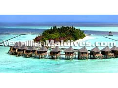 Aerial View Jacuzzi Water Villas of Komandoo Maldives - Resort Holidays in Maldives