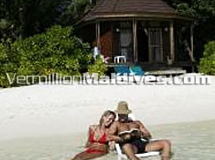 Beach Villas in komandoo Maldives –simple & good accommodations