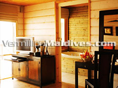 Komandoo's Jacuzzi Water Villa's  – Book this Special room