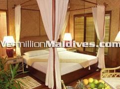 Kuramathi Cottage hotel Maldives: Stylish four star Spa resort