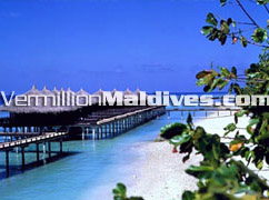 Water Bungalows at Kuramathi Maldives Resort Hotel, ideal for Honeymoon