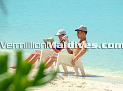 Maldives Beach with ultimate privacy, be it at Kuramathi Village Maldives