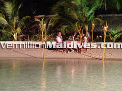 Specialty and romantic Dinners at Kuramathi Beach Holiday Island