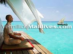 Kuramathi Blue Lagoon & Spa. Maldives four star vacation place to reserve