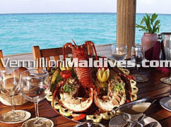 Good and Fresh food for your Maldives vacation