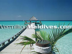 Maldives Kuramathi Jetty - Book your Stay here at the Paradise lagoon