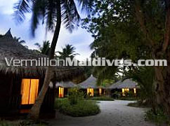 Maldives Kuramathi Blue Lagoon Hotel beach Bungalows at very special rates