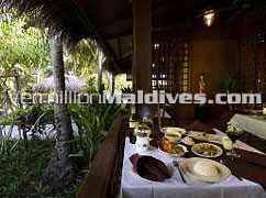Thai Restaurant of Kuramathi Blue Lagoon Maldives