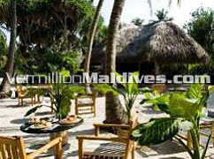 Open Air Dining at Kuramathi Island Resort  - Maldives Resort Hotels