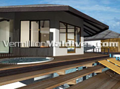 Water Villas with Jacuzzi - Kuramathi Island Resort Maldives – Honeymoon Special Resort