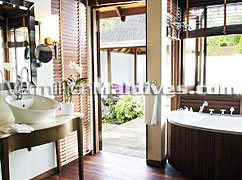 Bathrooms of Pool Villas -Kurumbaa Maldives Vacations