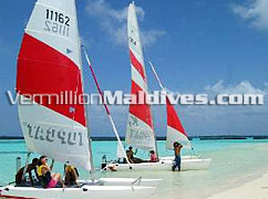 Catamaran Sailing – Cruise and sail around during your stay in Maldives