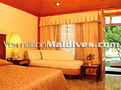 Deluxe Rooms: get a special package and book a room for your stay in Maldives