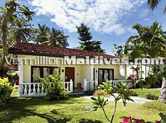 Garden Villa at Kurumba – Best family resort hotels in Maldives