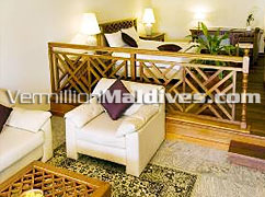 Interior -Garden Villas of the Prestigious resort of Kurumba Maldives