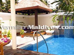 Pool of Private Villa at Kurumba Maldives – your Honeymoon Destination in Maldives