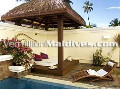 Private Pool of Kurumba Hotel Maldives – Layback and enjoy