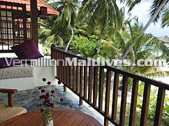 Superior Rooms –Private terraced & beach View rooms in Kurumba Maldives
