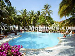 Swimming Pool of Kurumba – Maldives Beach Island Holidays