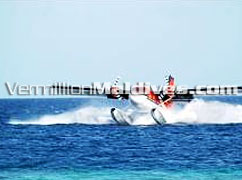 Book your Holiday & travel by seaplane transfer to Lily Beach Resort