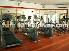 Enjoy a Gym session & be fit during you vacations at Lilybeach Maldives