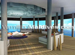 Inside the Spa. World class Spa for your Maldives Spa holiday