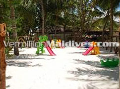 Kids Park of the resort Lily Beach Maldives. A Family Resorts