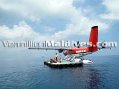 Transfer by Seaplane to Maldives Madoogali Island Resort