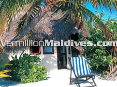 Maldives hotel Makunudu bungalow accommodations