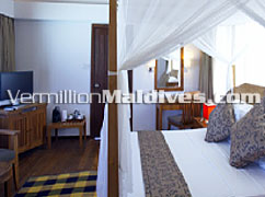 Honeymoon Water Villa Suite of Medhufushi Maldives resort