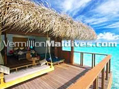 Maldives Hotel Medhufushi Water Villas – sexy and cozy with privacy