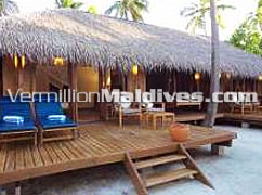 Medhufushi Beach Villas Suite : Spacious for your Maldives family holiday