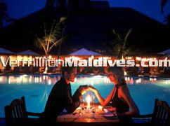 Poolside Private dining in Medhufushi – unforgettable romantic moments