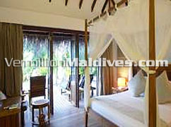 Vermillion Maldives offers great deals to these Beach Villas at Medufushi