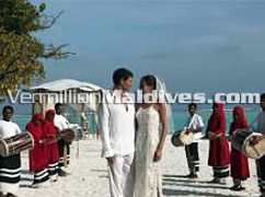 Hotel Meeru – Wedding vows at  the Maldives Honeymoon Retreat