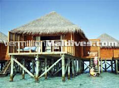 Jacuzzi Water Villa in Resort Island Meeru Maldives – Beautiful and Simple resort