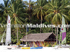 Meeru island Water Sports centre Resort with many activities