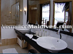 Bathroom - Maldives Island Resorts Mirihi