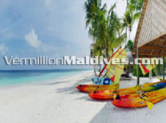 Water sports & activities of the beautiful Spa Resort hotel Mirihi Maldives