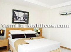 Bedrooms of Mookai Suites - Comfortable and spacious – book your Male' Stay here
