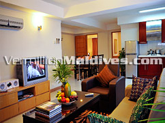 Inside the Suites of Mookai Suites – Male Hotel with Comfortable rooms
