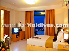 Only all Suite accommodation in Male' at Hotel Mookai Suites