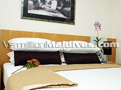 Turn down service at Mookai Suites - First class service in Maldives Hotel