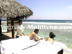 Spa Treatments in House in the 5 star luxury Maldives Spa resort